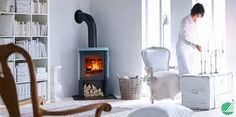 Wood burning, multi-fuel & gas stoves Glasgow at Stove World Glasgow. We stock Charnwood & Contura stoves with live displays in our Glasgow stove showroom. Corner Log Burner, Wood Burning Stove Corner, Corner Stove, Home Living Room, Living Room Designs, Soapstone Stove, Home Panel, Freestanding Fireplace, Lounge Decor