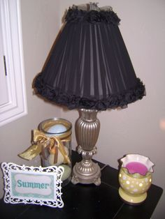 Hobby Lobby Lamp Shades Pleasing Jazz Up A Lamp Shade#lamp  Create  Pinterest  Craft Lampshades 2018