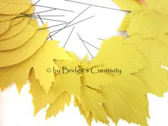 My paper leaves Paper Leaves, Leaf Template, Autumn Leaves, Quilling, Creative, Projects, Fall Leaves, Bedspreads, Log Projects