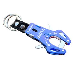 awesome Outsp Aluminum Alloy Tiger Buckle Fast Hang Carabiner Hook Travel Kits Camping Equipment Survival Gear Mountaineering Hook YL35