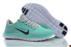 2013 New Arrival Nike Free 3.0 V5 Womens Running Shoes Green/Black/White