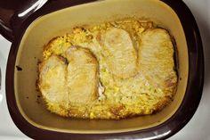 Pork Chops & Stuffing Recipe for Pampered Chef Covered Baker