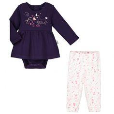 Ensemble bébé fille body tunique + legging Lili - PETIT BEGUIN d835c17f7f9