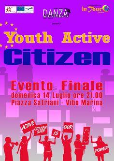 Vibo Valentia Marina, Italy. Youth Active Citizen. Youth Exchange