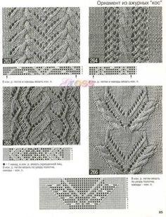 Fotografias – Google+ Lace Knitting Patterns, Knitting Charts, Lace Patterns, Knitting Stitches, Stitch Patterns, Cable Knitting, Knitting Yarn, Hand Knitting, Knit Lace