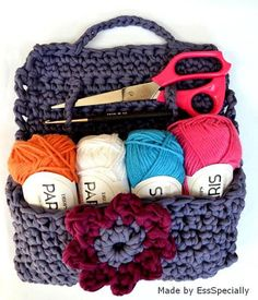 Crochet bag, to take CROCHET PATTERN