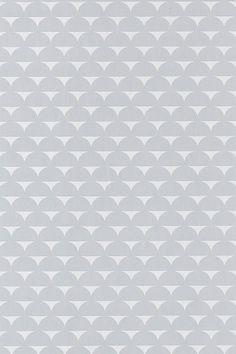 Wallpaper by ellos Harriet-tapetti, harmaa