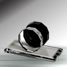 Oval Kristal Kartvizitlik