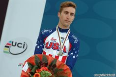 Taylor Phinney looks disappointed with 2nd. He's had several close calls this year.