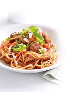 Snack Spaghetti Met Notenballetjes Het Nieuwsblad Http Www Nieuwsblad