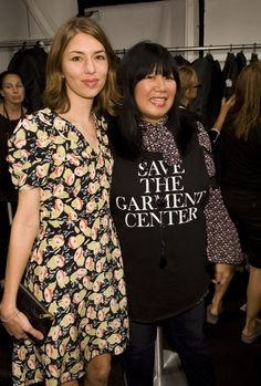 Sofia Coppola and Anna Sui