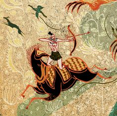 Tiger Hunter by Victo Ngai, via Behance