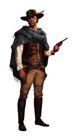 Plata de Ley character, Jack Lonegan by BorjaPindado on DeviantArt