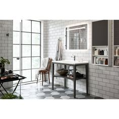 Vedum Tvättställspaket Art 908 Antracitgrå inkl. Tvättställ