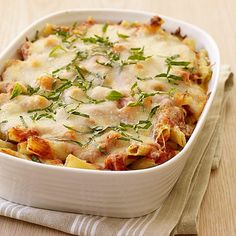 Baked Ziti Recipe | Weight Watchers
