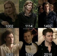 Klaus Mikaelson through the years