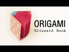 Origami Book - Blizzard Style Tutorial ♥︎ DIY ♥︎