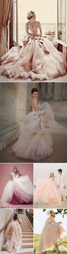 20 Utterly Romantic Blush Wedding Dresses - Sweet & Dreamy