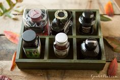 Goulet Pens Blog: Fall in Love: 12 Pens And Inks To Use This Season