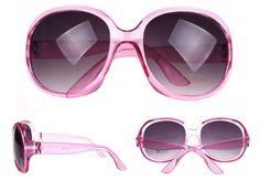 Store pink solbriller