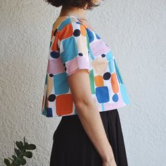Tee Hee Top - Claire Ritchie Couture Fashion, Diy Fashion, Spring Fashion, Fashion Beauty, Fashion Outfits, Womens Fashion, Fashion Images, Up Girl, Textile Design