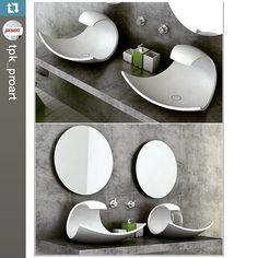 Linda cuba termomoldada com cascata embutida! Top! Wow!  #corian #cubapersonalizada #arquitetura #designinterior #designinteriores #futurasuperficies #casashopping #banheiro  #Repost @tpk_proart ・・・ Дизайнер: Joel Roberts #wow #white #tristone #tpk_proart #interior #proart #sink #style #fashion #decor #design #designer #decoration #dupont #luxury #lifestyle #corian #creative #bathroom