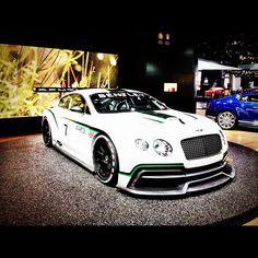 Bentley GT3 showcasing the LA auto show