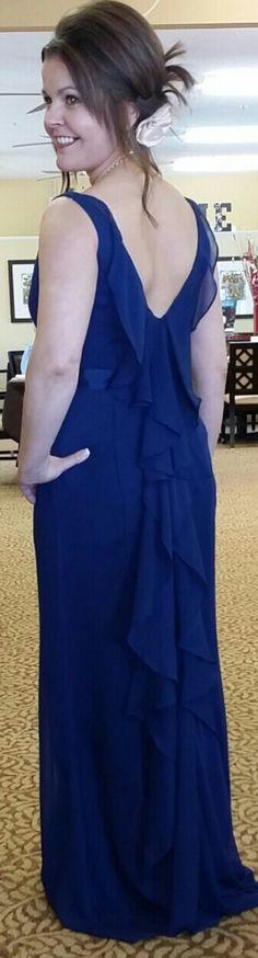 Bridesmaid dress back!