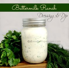 Buttermilk ranch dre