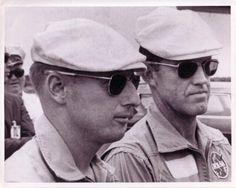 Pete Conrad and Gordo Cooper