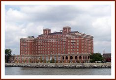 The Chamberlin Hotel is a historic hotel in Hampton, Virginia, overlooking Hampton Roads at Old Point Comfort. It sits on historic Fort Monroe and overlooks Fort Wool. Listed on the National Register of Historic Places