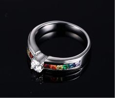 Beautiful rainbow ring - $14.99