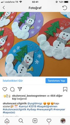 Basteln mit Kindern im Winter - Weihnachten Snowman image Defining Your Rooms With Area Rugs Area Ru Kids Crafts, Christmas Crafts For Kids, Diy Christmas Ornaments, Toddler Crafts, Christmas Projects, Preschool Crafts, Kids Christmas, Holiday Crafts, Diy And Crafts