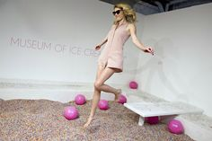 Swim in a pool of sprinkles at the Museum of Ice Cream