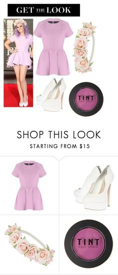 """Perrie Edwards in lavender"" by kenyapine ❤ liked on Polyvore featuring Carvela Kurt Geiger and Dorothy Perkins"