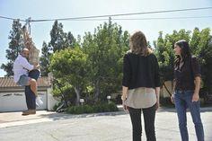Courteney Cox, Ian Gomez, Christa Miller and Brian Van Holt in Cougar Town.