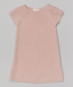 Look what I found on #zulily! Talc Victoria Cap-Sleeve Dress - Infant, Toddler & Girls #zulilyfinds