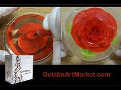 Gelatin Art Market | Gelatin Art Market - Flowers in Gelatin