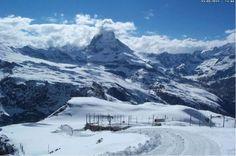 Zermatt Snow and Skiing Conditions: Mountain Exposure Zermatt, Mount Everest, Skiing, Snow, Mountains, Nature, Travel, Ski, Naturaleza