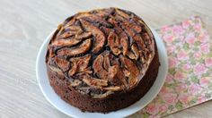 Chocolade speculaas cake met peertjes   Better than perfect.