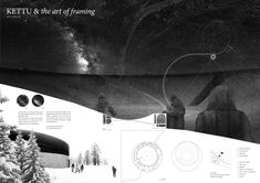 [A3N] : Aurora Borealis Arctic Observatory Competition Winner 2012 ( Honorable Mention 06 : KETTU & the art of framing ) / Guillaume Othenin-Girard, Scott Lloyd (The Swiss Federal Institute of Technology Zurich)