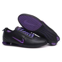 low priced 12119 76ec6 Nike Shox R3 9002 Plating hook Black Purple Women Shoes  79.59