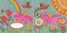 susan black design: new promo card Susan Black, Doodle 2, Greeting Cards, Drawings, Illustration, Painting, Design, Art, Sketches