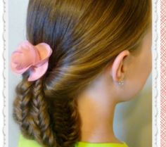 Tucked Fishtail Braids Updo Hairstyle, Hair4myprincess (+playlist)