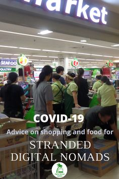 Advice from a digital nomad on managing a or coronavirus quarantine when you are abroad. Practical tips especially from Cebu city in the Philippines. Cebu City, Digital Nomad, Philippines, Travel Tips, Advice, Shopping, Food, Tips, Travel Advice
