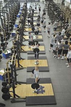 Strength coaches have come a long way since the dark ages. Just ask Notre Dame's Paul Longo.