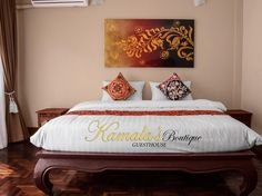 Chiang Mai Kamalas Boutique Guesthouse Thailand, Asia The 2.5-star Kamalas Boutique Guesthouse offers comfort and convenience whether you're on business or holiday in Chiang Mai. The hotel offers a high standard of service and amenities to suit the individual needs of all travelers. To be found at the hotel are free Wi-Fi in all rooms, taxi service, luggage storage, Wi-Fi in public areas, room service. Comfortable guestrooms ensure a good night's sleep with some rooms featurin...