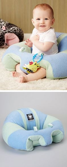 Hugaboo baby seat - leg and back support that keeps your little one from tipping forward or sliding out. by leolove