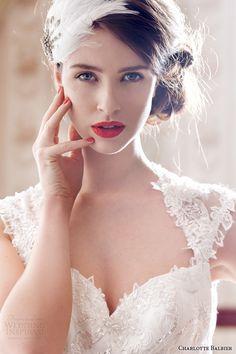 charlotte balbier 2014 decade of style beaullea wedding dress cap sleeves