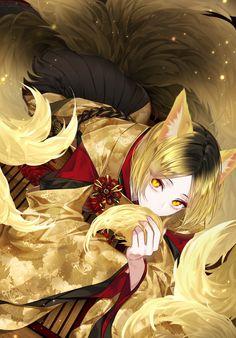 kenma as a fox